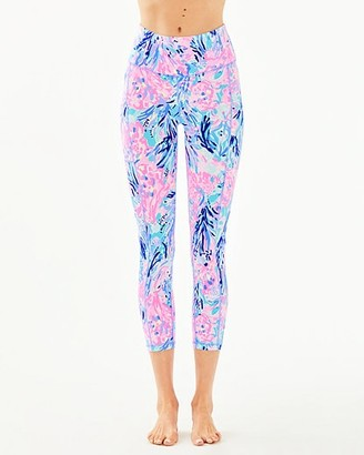 "Lilly Pulitzer UPF 50+ Luxletic 24"" High Rise Weekender Midi Legging"