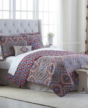 Jessica Sanders Decatur 6-Pc. Reversible Queen Quilt Set Bedding