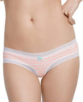 Betsey Johnson Forever Perfect Cotton Cheeky Bikini