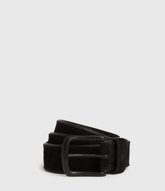 AllSaints Carson Leather Belt