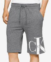 Calvin Klein Jeans Men's Reissue Graphic-Print Logo Sweat Shorts