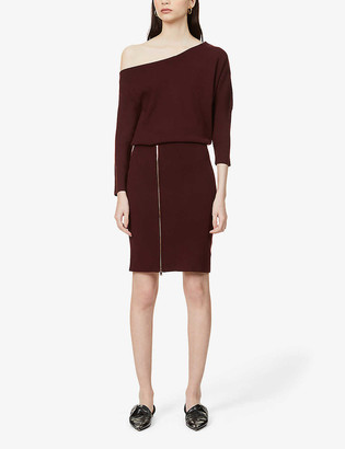 Reiss Cecelia woven midi dress