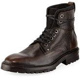 John Varvatos Catskill Leather Lace-Up Hiking Boot