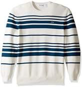 Lacoste Men's Milano Stitch Stripe Sweater