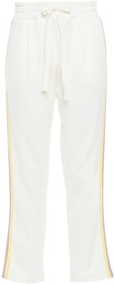 Chinti and Parker Cotton-terry Track Pants