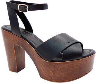 Wild Diva Women's Sandals BLACK - Black Stormy Sandal - Women