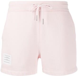 Thom Browne Tricolour Stripe Cotton Shorts