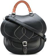 Maison Margiela braided top handle saddle bag - women - Leather - One Size