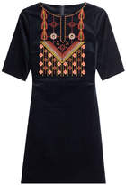 MiH Jeans M i H Embroidered Cotton Dress