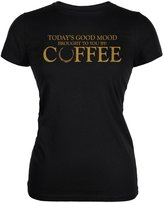 Old Glory Today's Good Mood Brought To You By Coffee Juniors Soft T-Shirt
