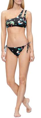 Calvin Klein Core Print-S Swim Top KW00833_0GT