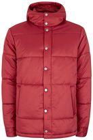 Topman Red Puffer Jacket