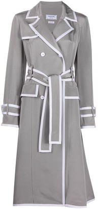 Thom Browne Silk Trench Coat