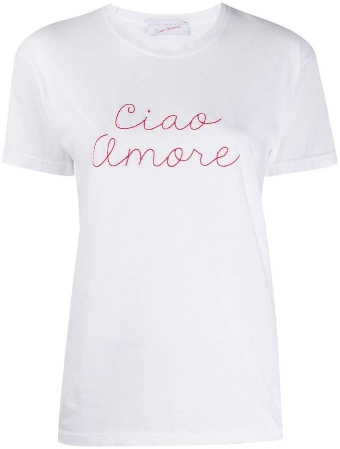 Giada Benincasa 'Ciao Amore' embroidered t-shirt