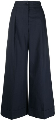 See by Chloe High-Waisted Wide Leg Trousers