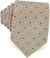 Forzieri Bicolor Dots Woven Silk Tie