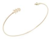 Mizuki 14K Gold Shooting Arrow Cuff Bracelet