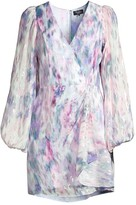 Parker Black Roslyn Watercolor Dress