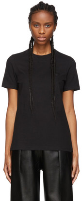 Acne Studios Black Bla Konst Doe Badge T-Shirt