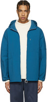 Acne Studios Blue Canvas Motion Jacket