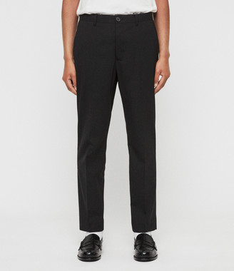 AllSaints Whyte Cropped Tailored Trousers
