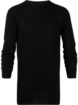 Rick Owens Long Sleeve Cashmere Sweater