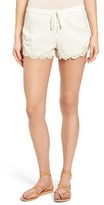 Roxy Women's Love Lace Trim Shorts