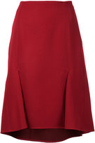 ASTRAET double pleat skirt