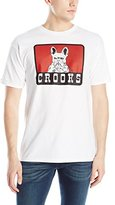 Crooks & Castles Men's Knit Crew T-Shirt - French Davis