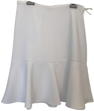 Carven White Polyester Skirts
