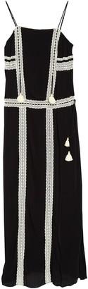 Hale Bob Lace Trim Maxi Dress