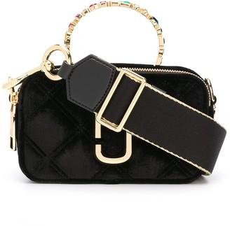 Marc Jacobs The Snapshot velvet tote bag