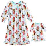 Disney Disney's Elena of Avalor Toddler Girl Ruffled Nightgown & Doll Dress Set