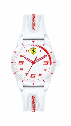 Scuderia Ferrari Unisex Kid's Analogue Quartz Watch with Silicone Strap 0860011