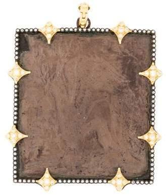 Armenta Diamond Artifact Pendant