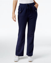 Karen Scott Petite French Terry Pull-On Pants, Only at Macy's
