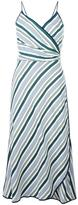 Tory Burch striped dress - women - Polyester/Viscose - 6