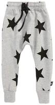 Nununu Boy's Star Print Jogger Pants