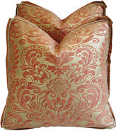 One Kings Lane Vintage Italian Fortuny Corone Pillows, Pair