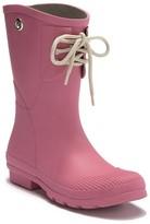 Kelly B. Nomad Footwear Lace-Up Waterproof Rain Boot
