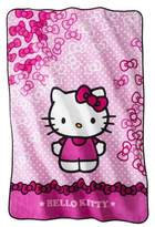 Hello Kitty Bow Blanket
