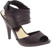 Daphnie Cuff Detail Peep Toe Sandal