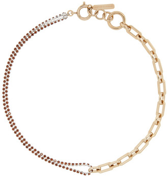 Justine Clenquet Silver and Gold Jean Choker