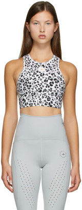 adidas by Stella McCartney White TruePurpose Training Crop Top