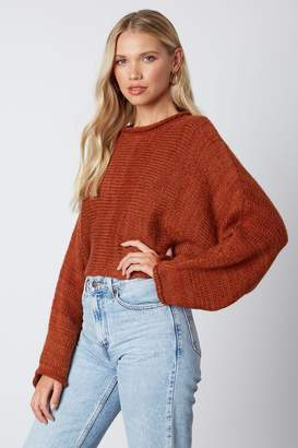 Cotton Candy Oversized Sleeve Sweater