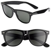 Ray-Ban Men's 'Classic Wayfarer' 50Mm Polarized Sunglasses - Black/ Green P