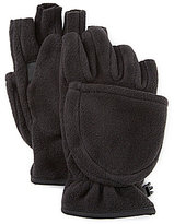 Roundtree & Yorke Fleece Flip-Top Mittens