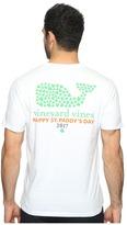 Vineyard Vines Short Sleeve St. Patrick's Day Pocket Tee Men's T Shirt