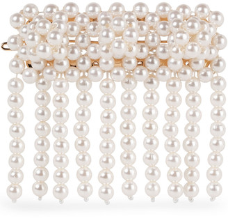 Shrimps Penelope Fringed Faux Pearl Hair Clip