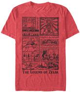 Fifth Sun Men's Tee Shirts RED - Legend of Zelda Red Heather The Legend Told Tee - Men